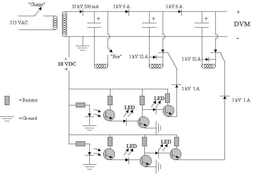 Coil Gun Schematics Schematics For Rail And Coil | #1 Wiring
