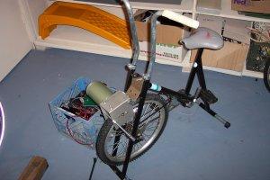 AC/DC Bike-Powered Generator System