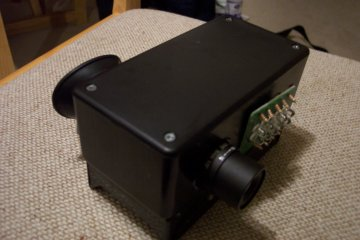 Homebuilt Infrared Viewer Night Vision