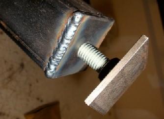 Steel Welding Table - Welded table base