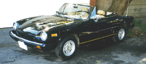 1978 fiat spider convertible