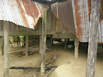 Indigenous Chakma home broken by Bangladesh Police and Muslim settlers