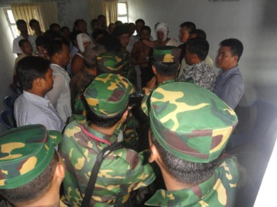 Bangladesh army, the proctector of Muslim settlers