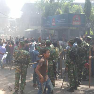Bangladesh Army and Muslim settlers