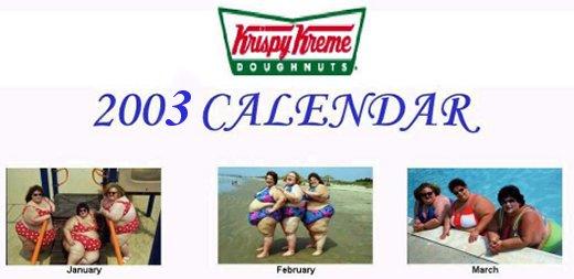 Krispy Kreme Calendar.See The 200 Krispy Kreme Calendar
