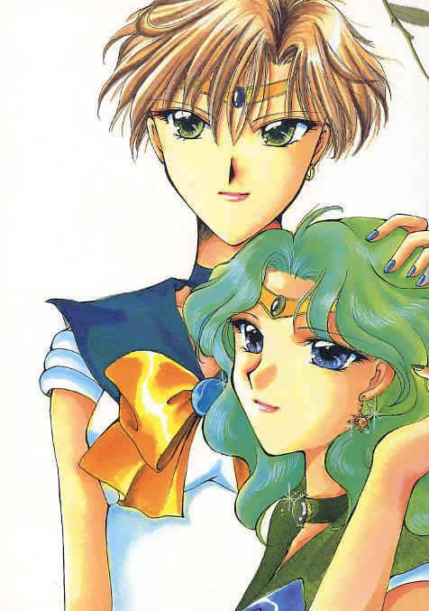 galería de Haruka y Michiru (Sailor Moon) Handthruhair