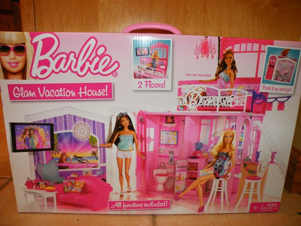 barbie glam vacation house instructions