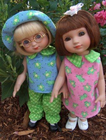 Ann Estelle and Sophie