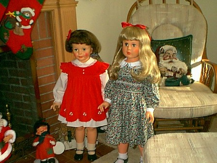 Christmas Companion Dolls