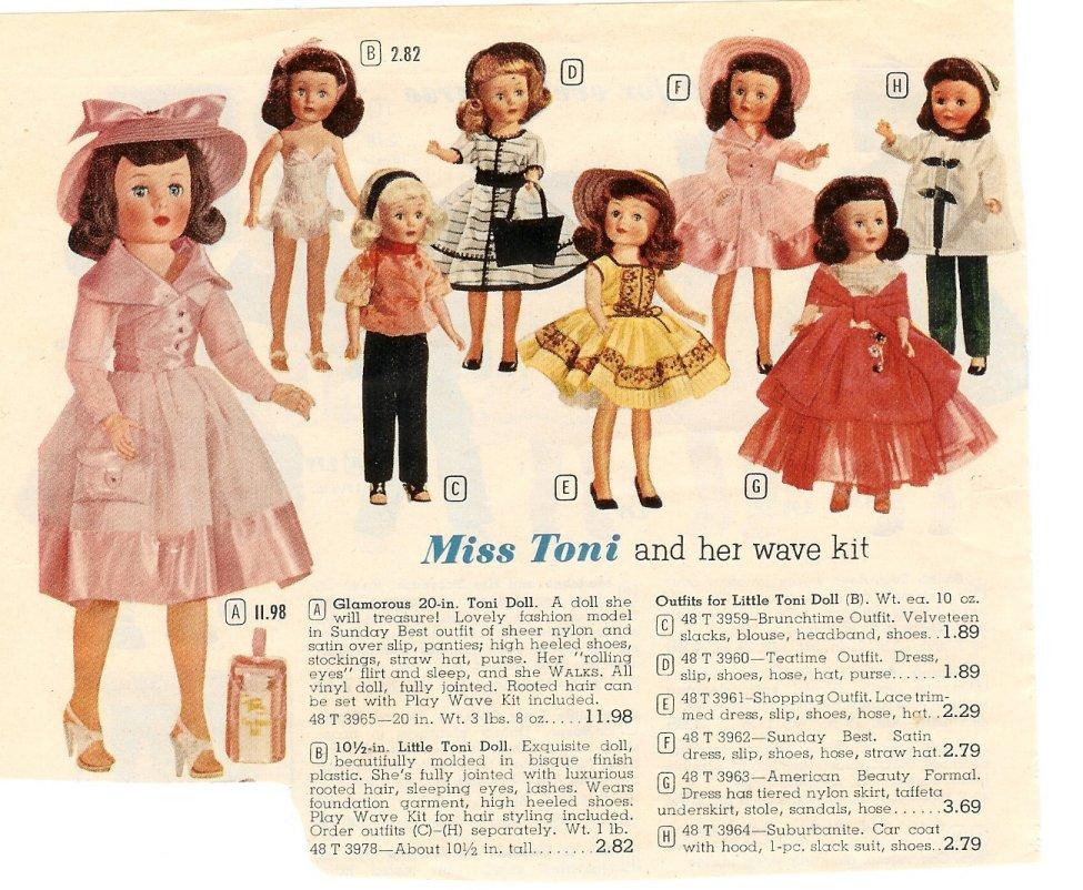 American Character Toni Doll Ad