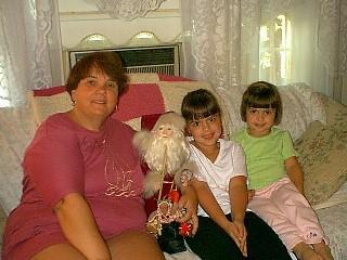 Karen and Father Christmas