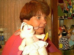 Karen and Lamb Chop