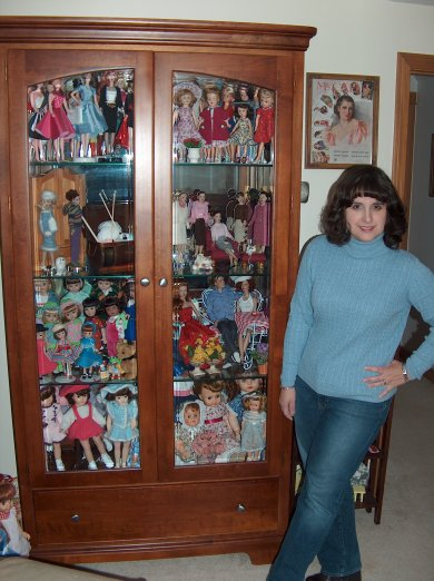 Me and My Doll Cabinet