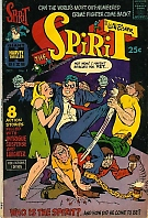 The cover to The Spirit #1 by Harvey Comics