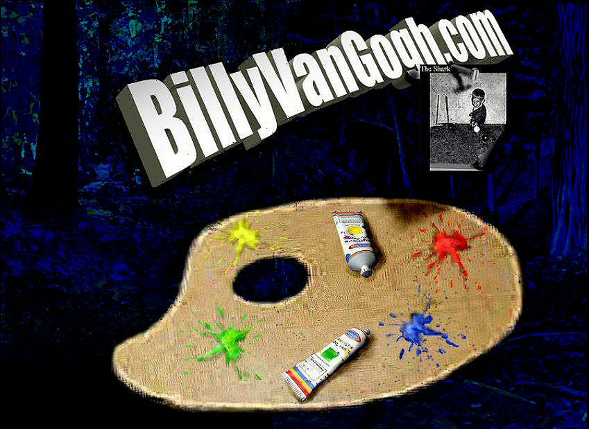 Choose an item on the Palette and enter BillyVanGogh.com