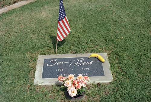 Sonny Bono Headstone
