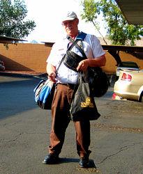 Mr.Wonderful unloading after 16 hour shift