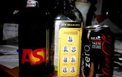 Heineken, zero JBKSRW & Coke Zero