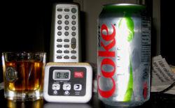 Whiskey shot & Diet Coke