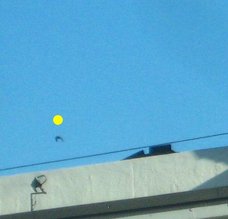 UFO at 150% enlargement