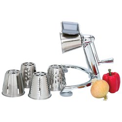 Click for enlarged photo of the surgical stainless steel vegetable chopper
