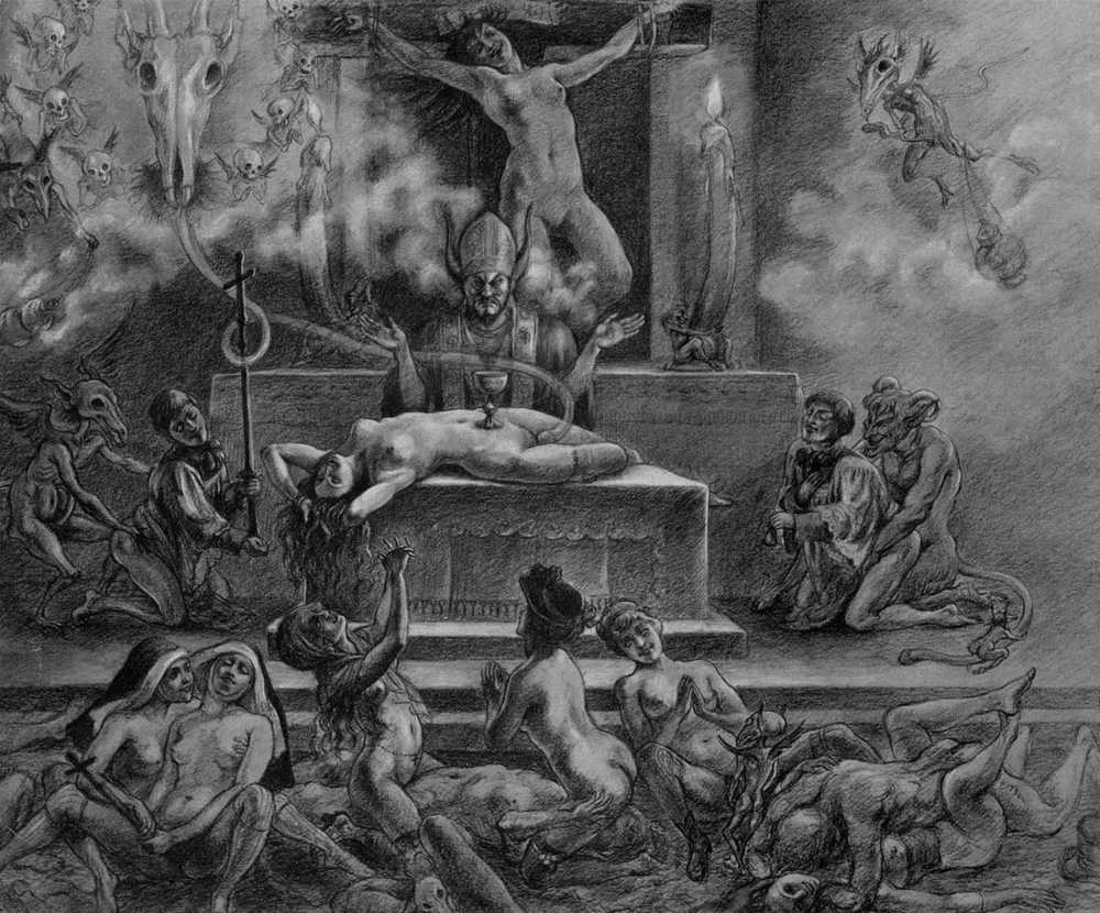 History of the Black Mass in Pictures