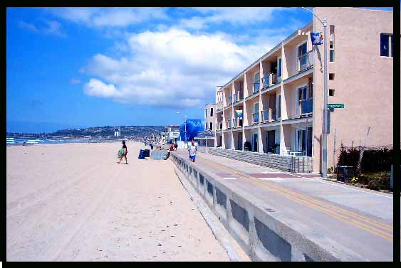 vacation rental condo in mission beach san diego ca sunset sands
