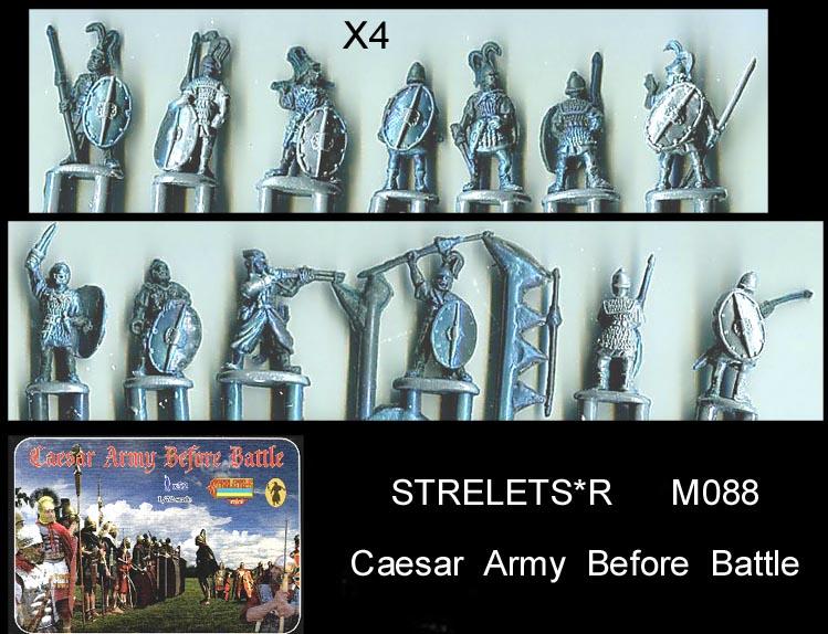 STRELETS 116 ROMAN TRANSPORT Soldatini 1//72