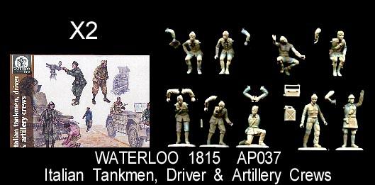 Waterloo 1815 Miniatures 1//72 BRITISH WWII PARATROOPERS w// HOWITZER Figure Set