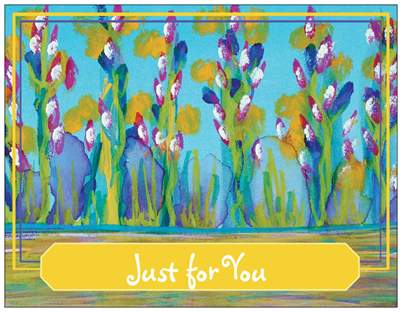 Just for You Enclosure Postcard Card