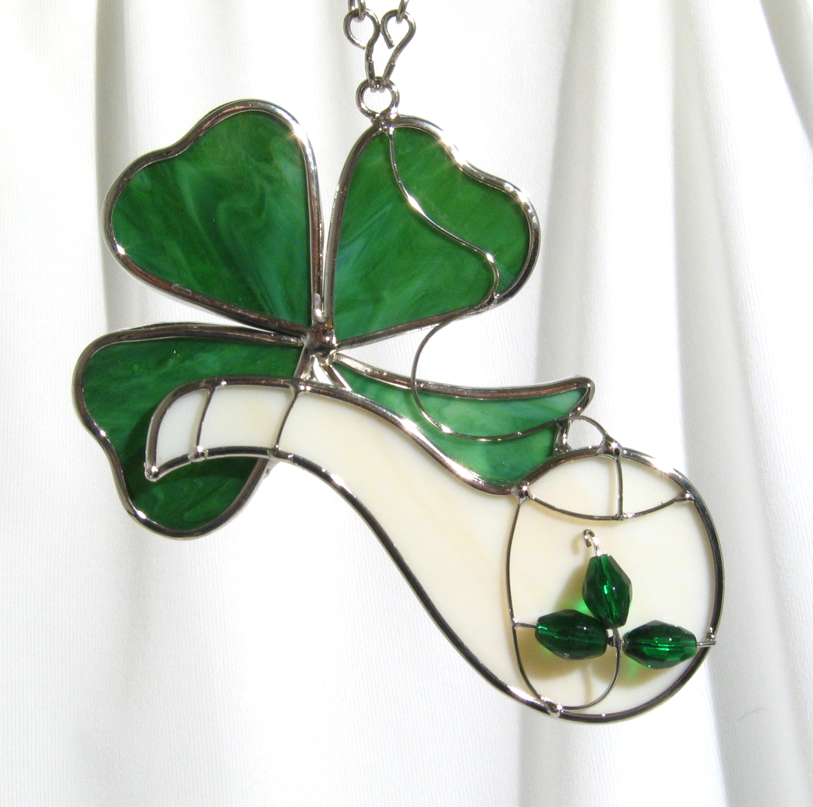Shamrock and Pipe