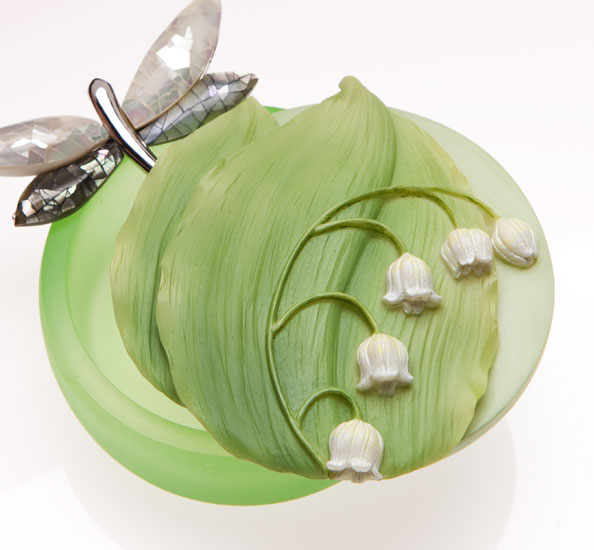 Lily of the Valley Keepsake Boxes