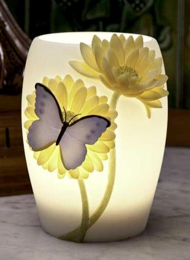 Blue Butterfly Night Lamp