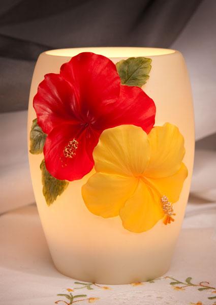 Hibiscus Night Lamp