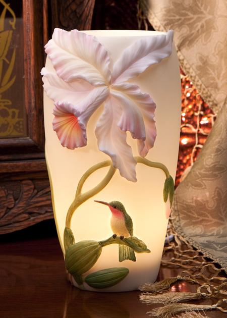 Hummingbird Cattleya Accent Lamp