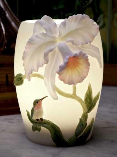 Hummingbird Cattleya Night Lamp