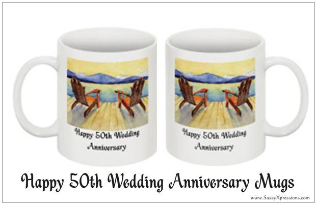50th Anniversary Mugs Adirondack Chair