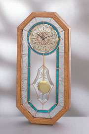 Stardust Brilliant Cut Bevel Center Clock