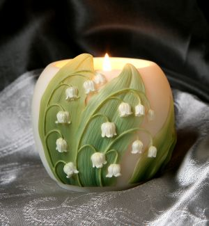 Lilly of the Valley Votive