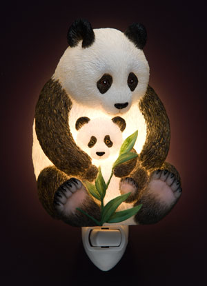 Pandas Night light