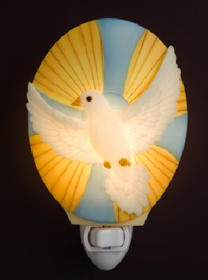 Radiant Dove Night LIght