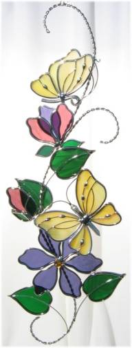 Butterfly Scroll - Yellow