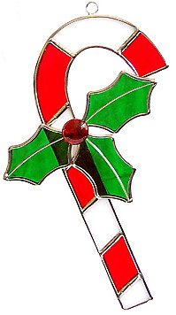 Candy Cane Suncatcher or Ornament