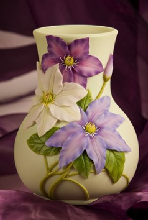 Clematis Table Vase