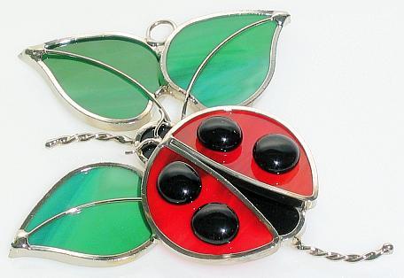 Ladybug Suncatcher