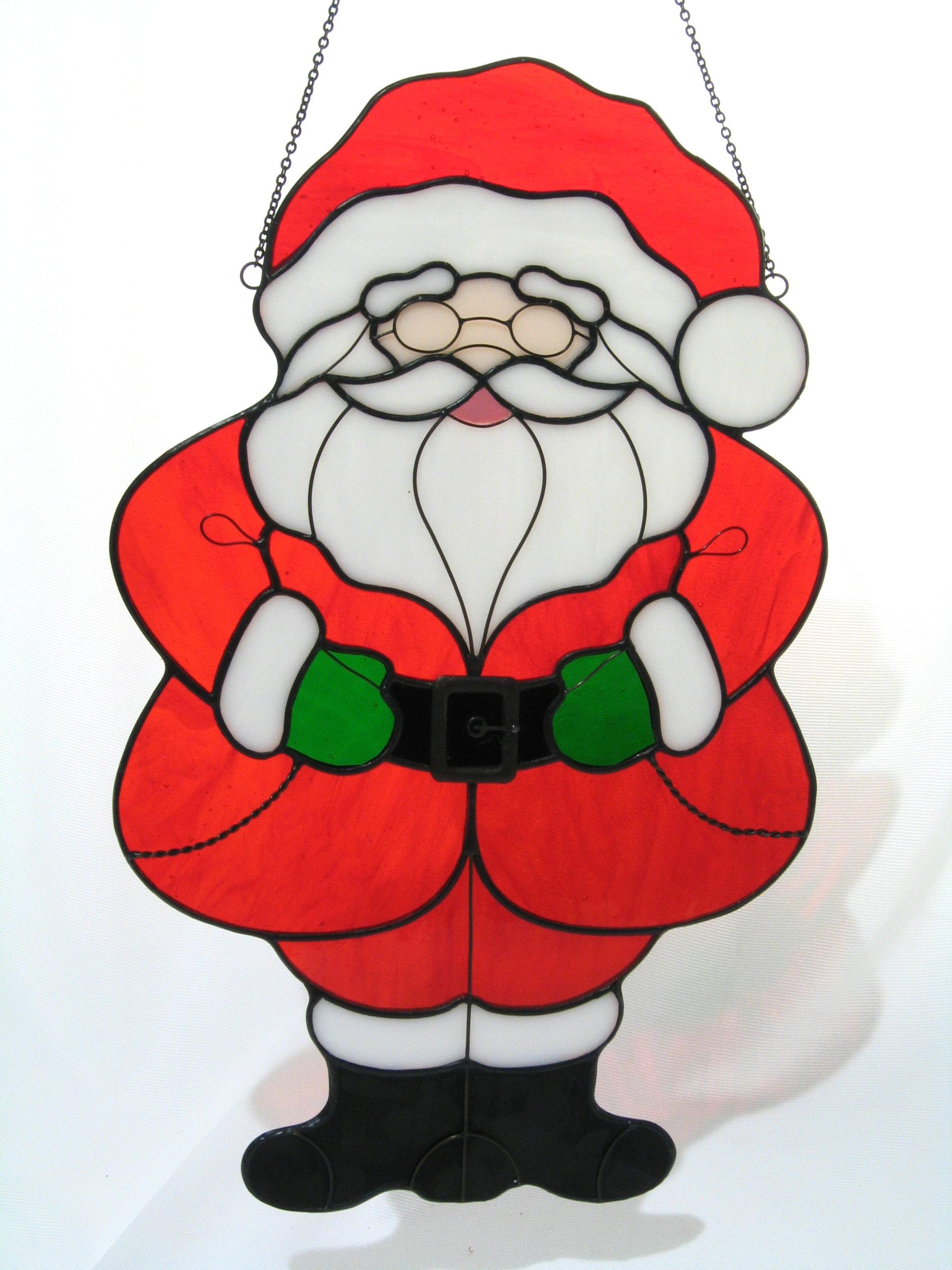 Large Santa in Red Coat