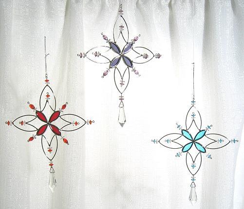 Snowflake Str Suncatcher or Tree Ornament