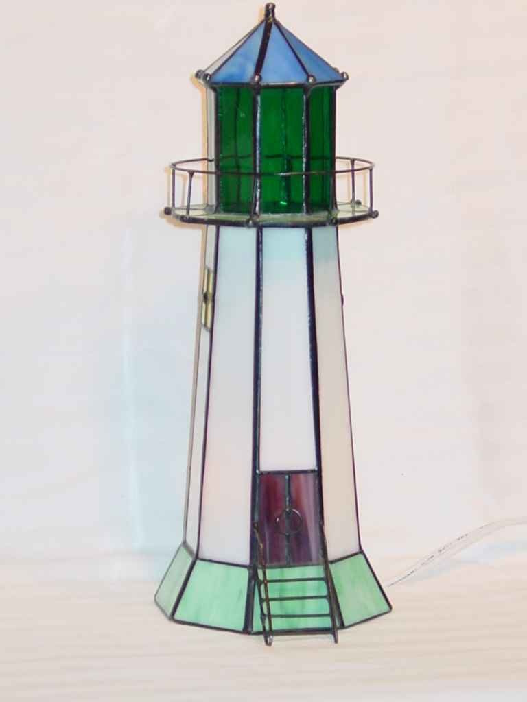 Lighthouse Lamp Tower Style