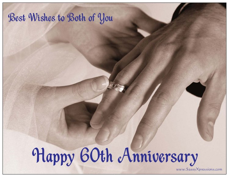 Hands with Wedding Rings Anniversary Refrigerator Magnet