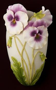 Pansey Wall Decor/Wall Vase